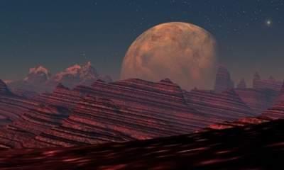 На Марсе обнаружено огромное реликтовое озеро