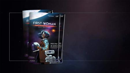 NASA выпустило комикс First Woman о первой женщине на Луне