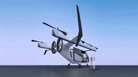 Honda разработает собственный летающий автомобиль: визуализация проекта